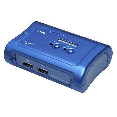 Trendnet TK-207K 2 PORT USB KVM 電子式電腦切換器