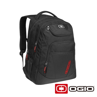 OGIO TRIBUNE 17 吋司令官電腦後背包-黑色