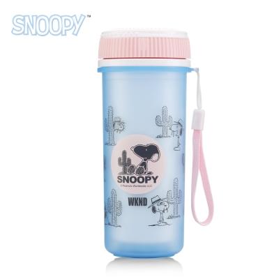 SNOOPY史努比 清漾雙層隔熱隨行水杯300ml
