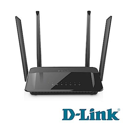 D-Link DIR-822 Wireless AC1200 雙頻無線路由器(聯強貨)