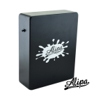 Alipa入門超值組合Cajon 旅行用迷你木箱鼓(黑色)+攜行袋+教學書