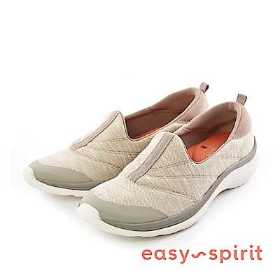 Easy Spirit--流線型拼接休閒走路鞋-優雅米