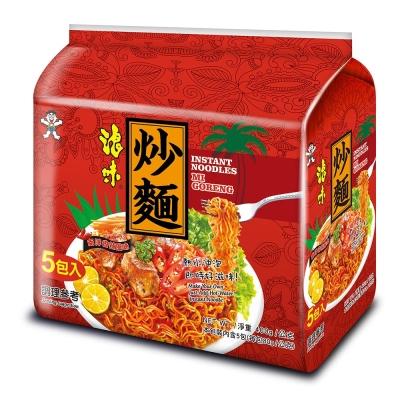 浪味炒麵南洋香辣風味(80gx5入)