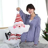聖誕老公公療癒系抱枕