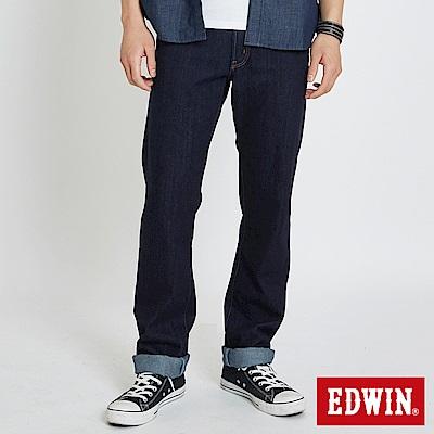 EDWIN 503重磅五袋直筒牛仔褲 -男-原藍色