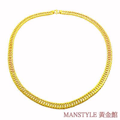 MANSTYLE「雙繕」黃金項鍊