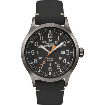 TIMEX 天美時 EXPEDITION遠征戶外系列腕錶-黑-40mm