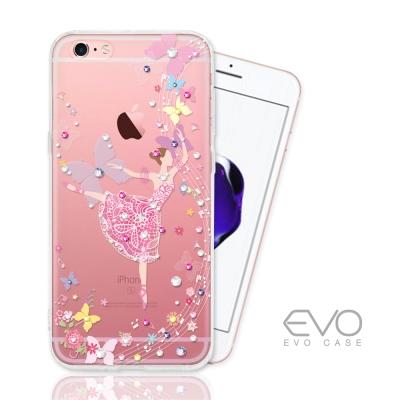EVO CASE iphone 6S 奧地利水晶彩繪防摔手機鑽殼-音符少女