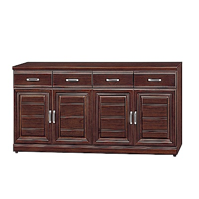品家居 倫蒂5.3尺木紋餐櫃下座(二色可選)-159x42x81cm免組