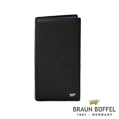 BRAUN BUFFEL - OSLO奧斯陸系列14卡長夾 - 摩登黑