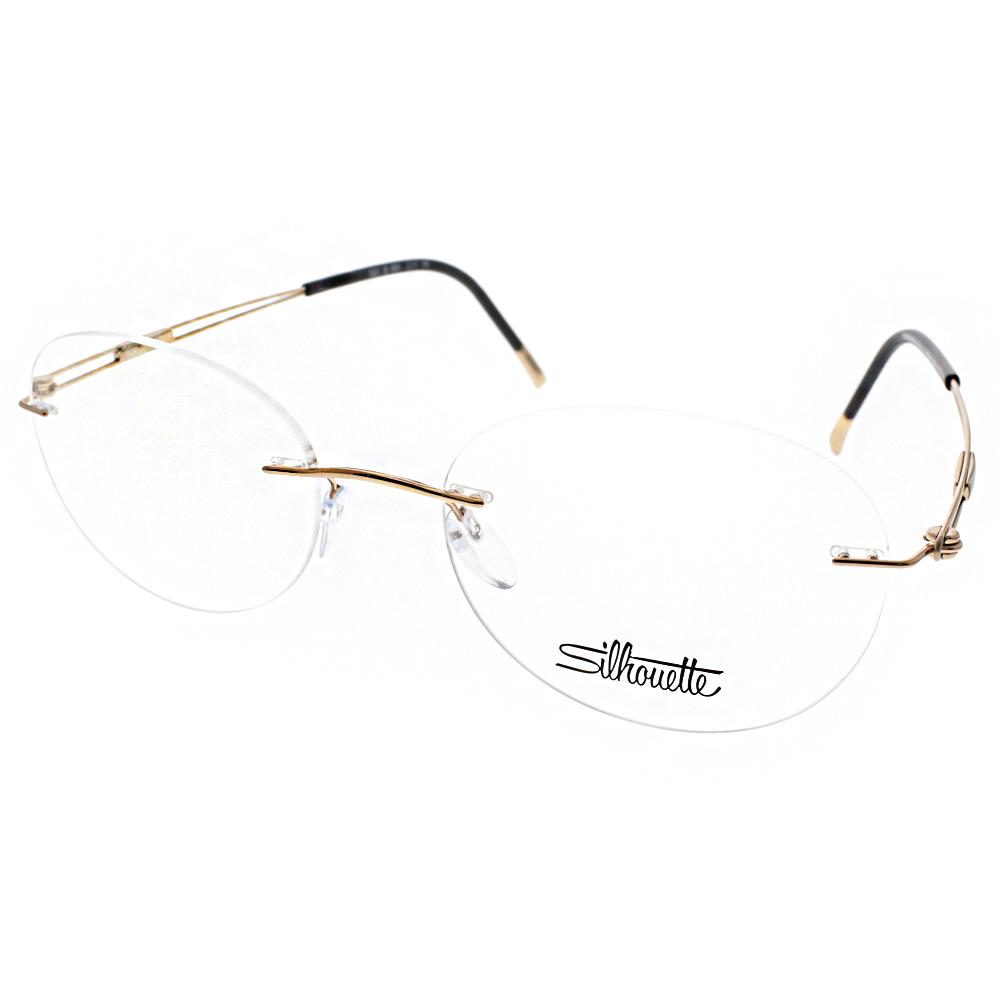 Silhouette詩樂眼鏡 輕量無框/金#ST5227 20 C6051