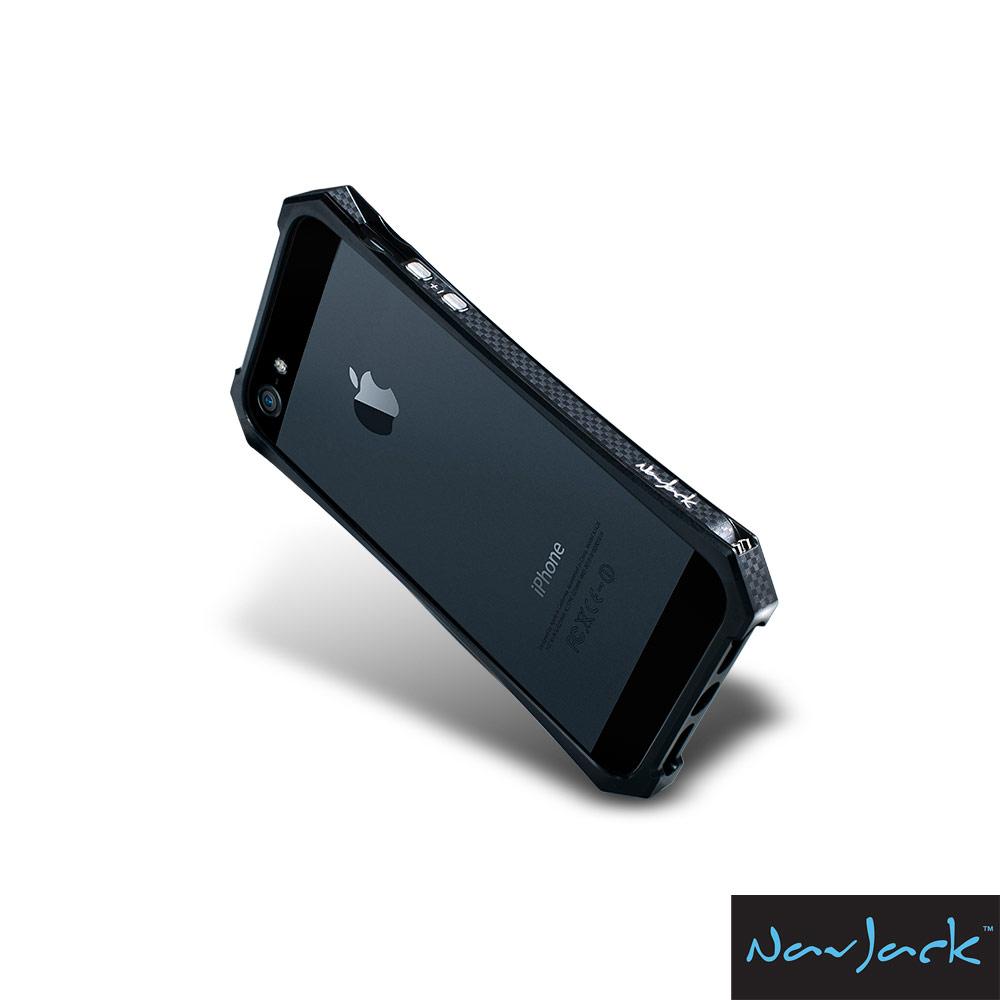 NavJack X-Trim 系列 IPHONE 5/5S/SE 流線型金屬塑鋼保護框