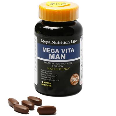 美國Mega 男士多維綜合維他命錠60顆