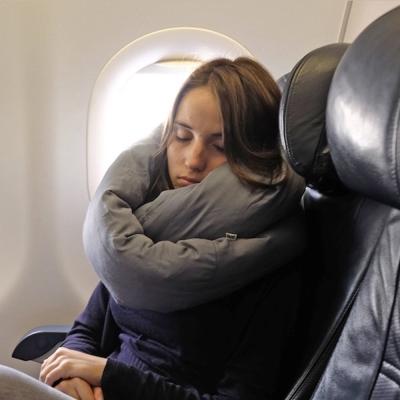 Huzi Infinity Pillow 百變頸枕/靠枕(灰)女人我最大強力推薦