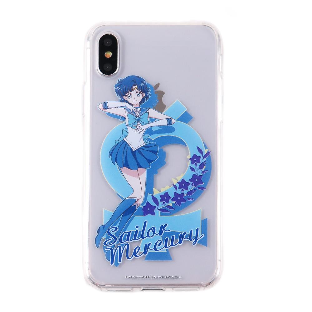 美少女戰士 iPhone X 雙料保護殼套_水星仙子