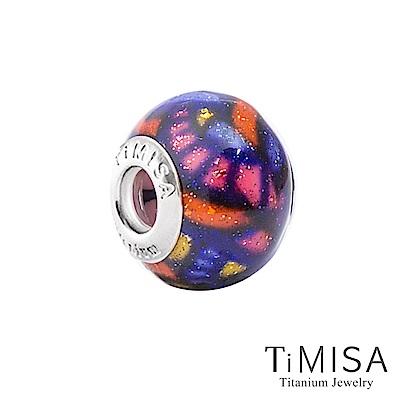 TiMISA 繽紛世界(11mm)純鈦琉璃 墜飾串珠
