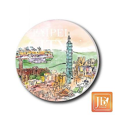 JB Design陶瓷吸水杯墊609_春意台北