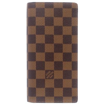 LV N62228 Damier LV棋盤格紋長夾