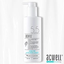 (即期品)ACWELL艾珂薇 NO5.5無泡深層極緻保濕舒緩卸妝潔面乳150ml