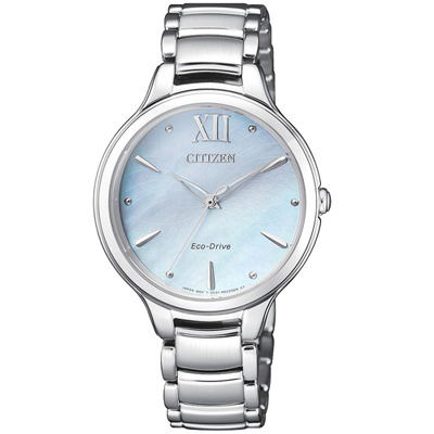 星辰CITIZEN L系列典雅時尚腕錶(EM0550-83N)