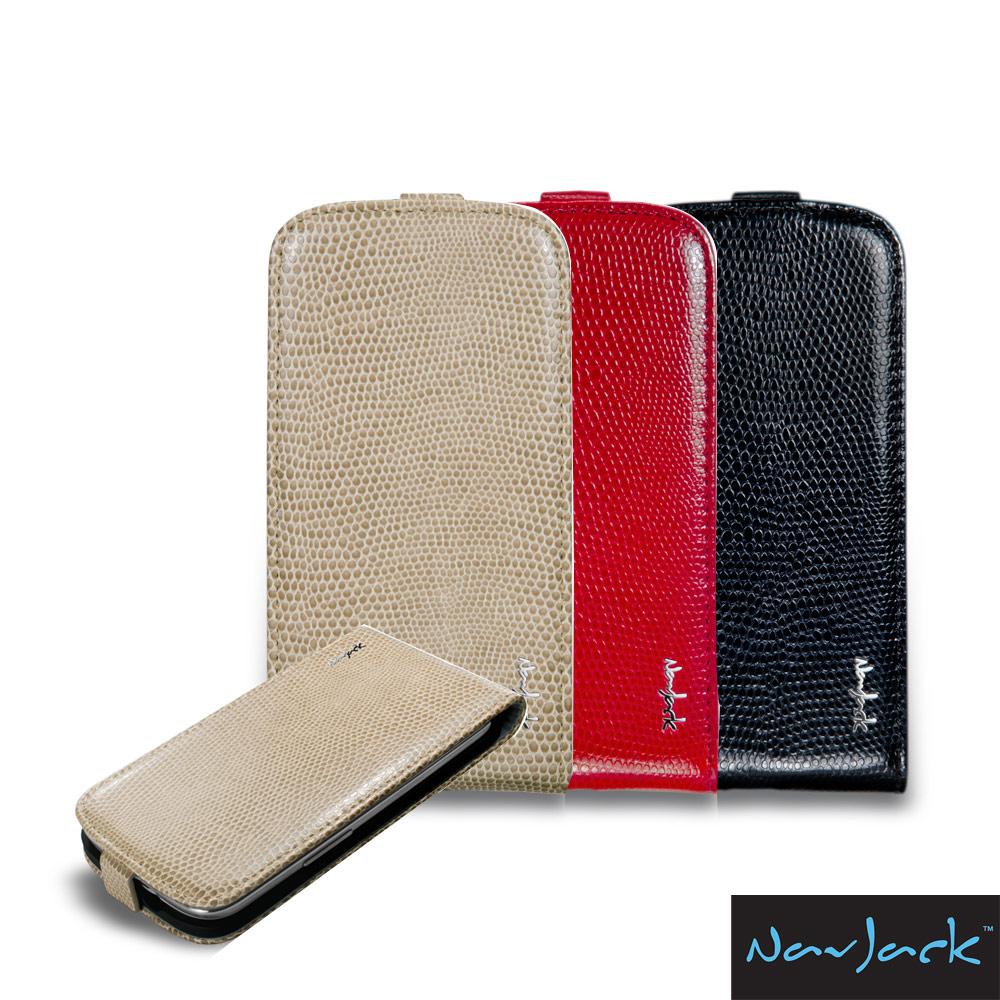NavJack Vellum 系列 Galaxy S3 掀蓋式皮革保護套