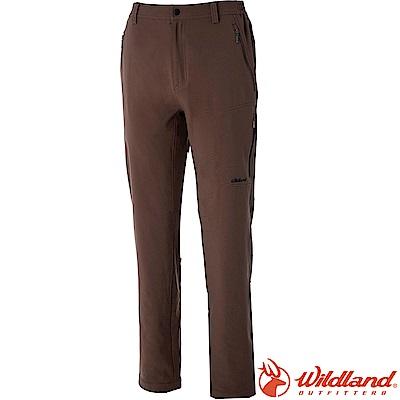 Wildland 荒野 0A52312-63深卡其 男彈性輕薄防風防潑褲