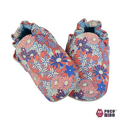 英國 POCONIDO 純手工柔軟嬰兒鞋 (百花齊放)