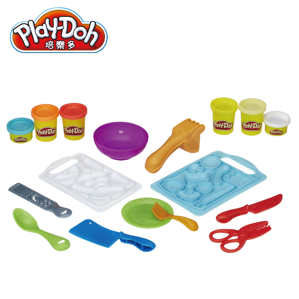 play doh 培樂多 廚房系列 切菜料理組