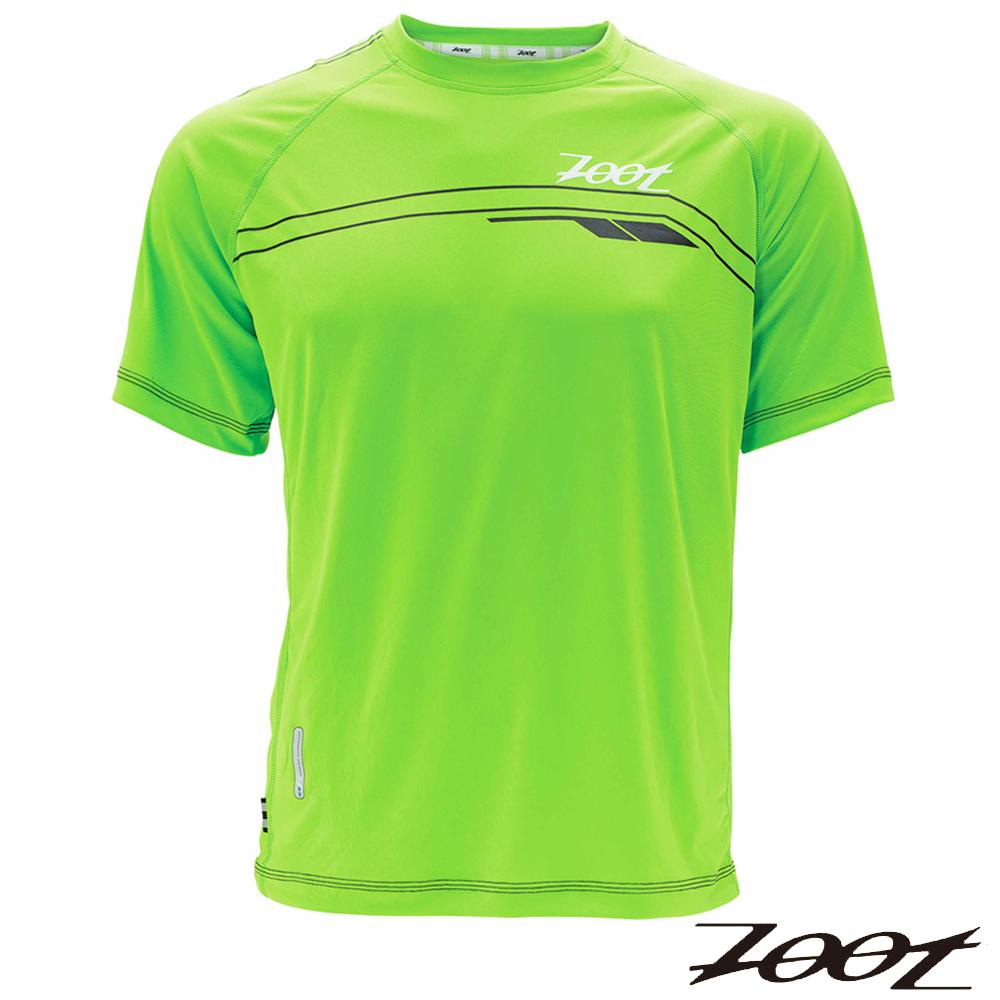 2014 ZOOT頂級冰涼感路跑上衣(男-翠綠) Z1404016路跑 馬拉松
