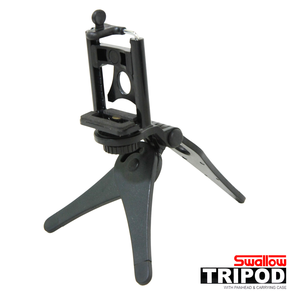 Swallow 扁平桌上型腳架(附調整型手機夾)
