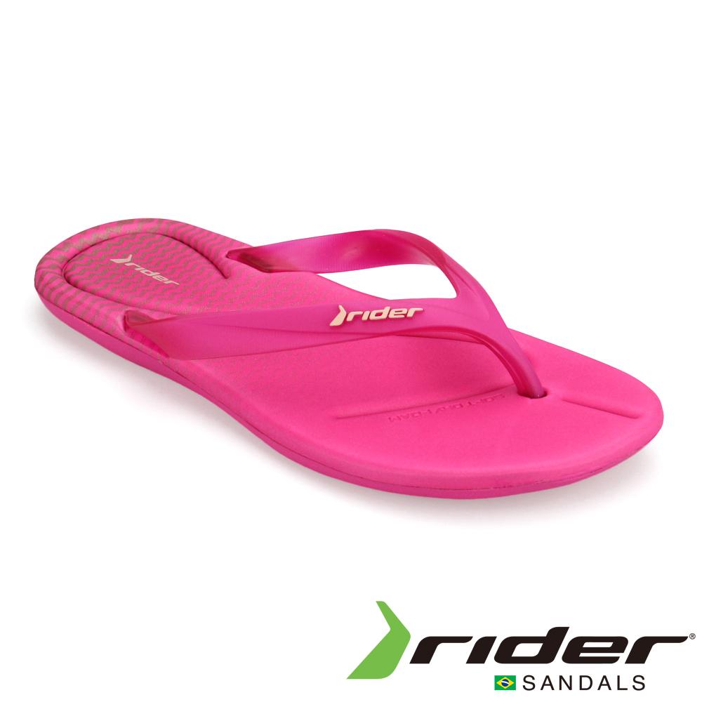 Rider 巴西 女 SMOOTHIE 運動夾腳鞋(桃紅)