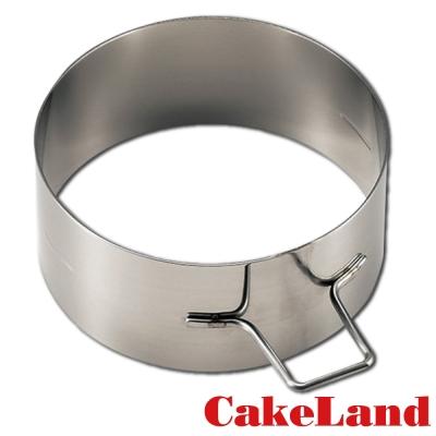 日本CakeLand 麵包蛋糕不鏽鋼深型煎烤模-丸型(日本製)