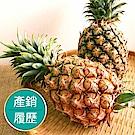 【果物配】金鑽鳳梨.產銷履歷(酸甜細緻/3公斤)