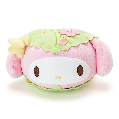 Sanrio SANRIO明星裝扮和菓子系列mochi mochi造型包(美樂蒂櫻餅)