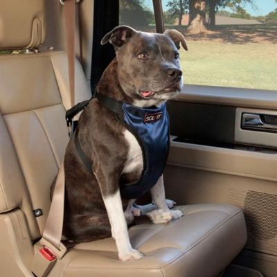 美國SOLVIT寵物介護 升級款豪華寵物車載安全帶L號