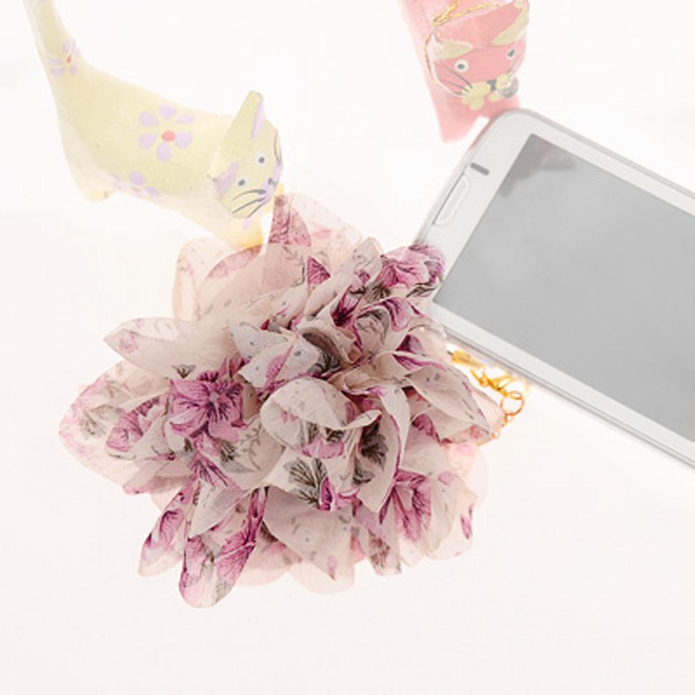 Aimee Toff 春漾輕襲浪漫花園手機吊飾(紫)