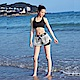Biki比基尼妮泳衣   上英字雙層褲泳褲短褲(單泳褲白) product thumbnail 1