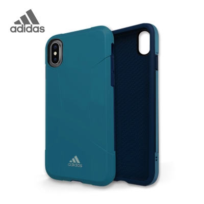 adidas iPhone X Solo Case 全保護手機殼 經典藍