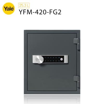 耶魯Yale 密碼觸控防火款保險箱YFM-420-FG2
