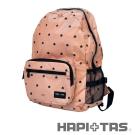 HAPI+TAS 男版折疊後背包-米色小黑帽