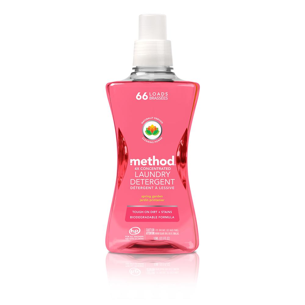 Method 美則 四倍濃縮智慧環保香水洗衣精-春天的花園1580ml