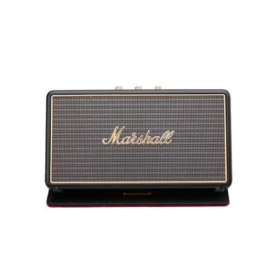 Marshall Stockwell 攜帶式藍牙喇叭- 經典黑(喇叭皮套組)