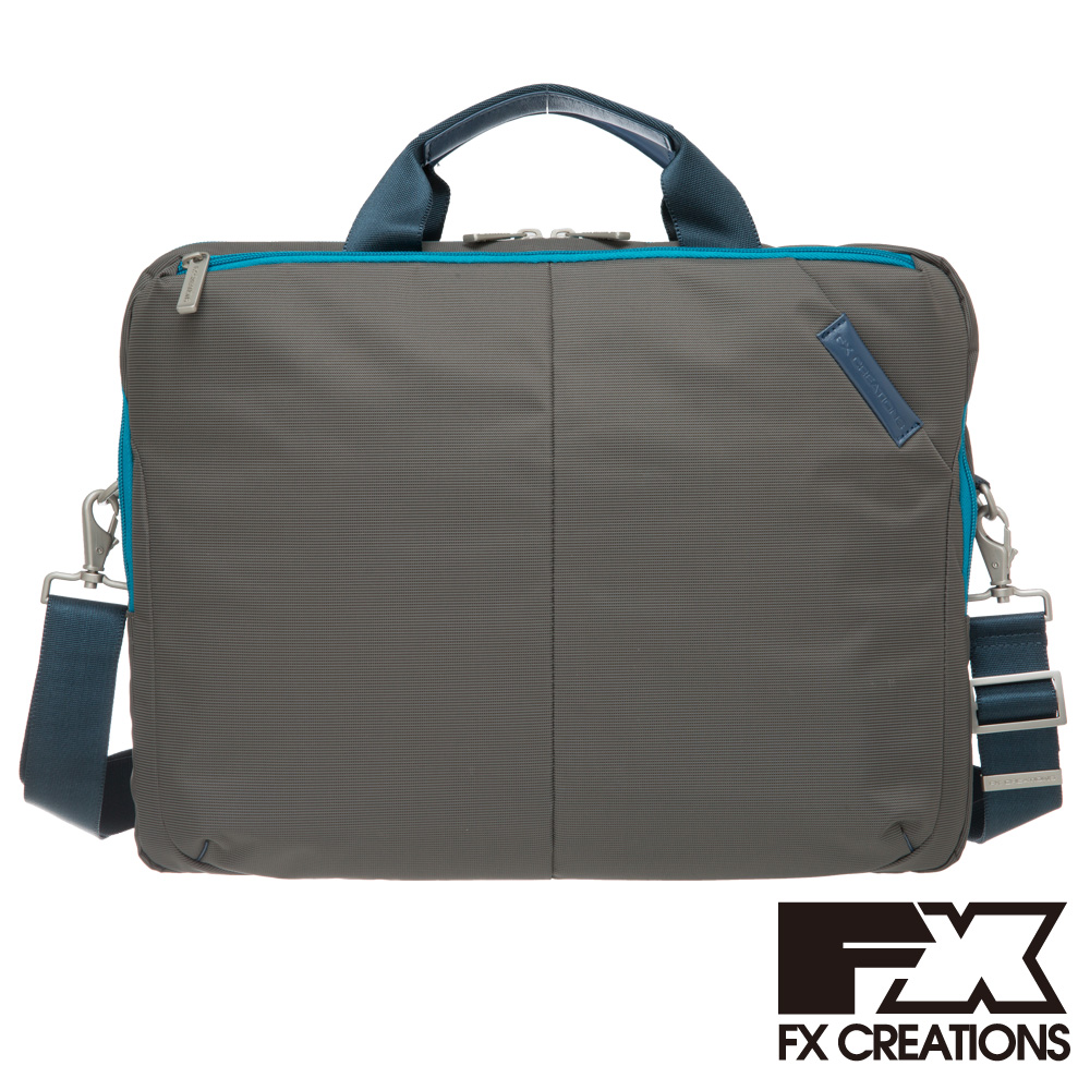 FX CREATIONS-Wexia系列-公事包-深灰 WEX69580-45