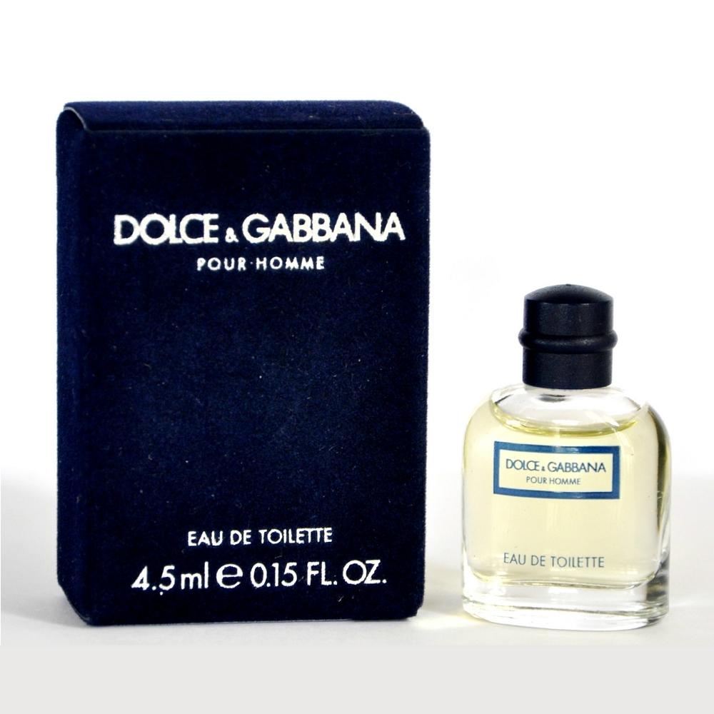 D&G Pour Homme 同名男性淡香水 4.5ml