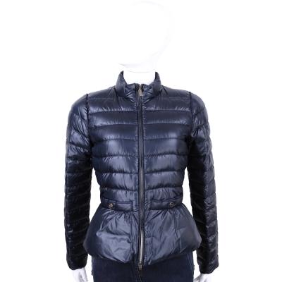 MARELLA-SPORT 深藍色車縫設計羽絨外套