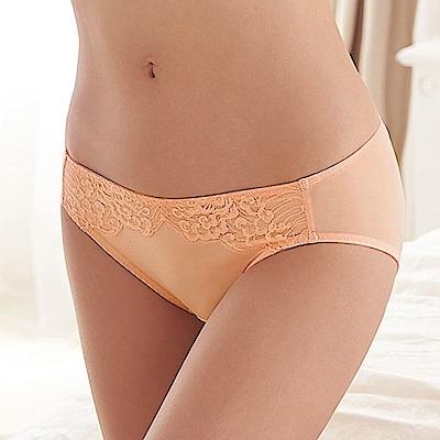 蕾黛絲-超值嚴選 清秀佳人搭配低腰內褲 M-EL(蜜粉橘)