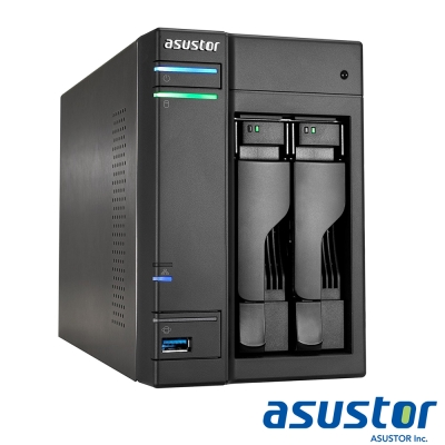 ASUSTOR華芸 AS6302T 2Bay NAS網路儲存伺服器