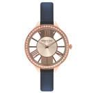 Kenneth Cole 羅馬夜夢時尚晶鑽腕錶-KC50184001-41mm