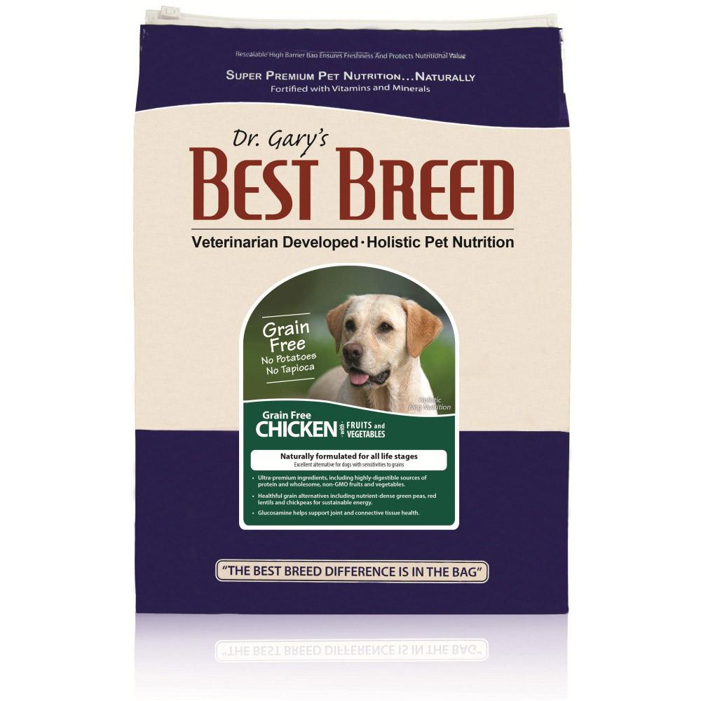 BEST BREED貝斯比 全齡犬無穀雞肉+蔬果配方 犬飼料 6.8kg