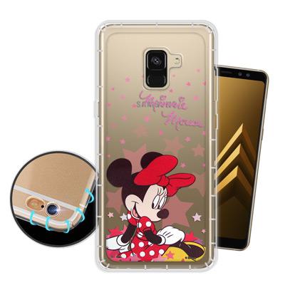 迪士尼 Samsung Galaxy A8+ (2018) 星星系列 空壓手機殼...
